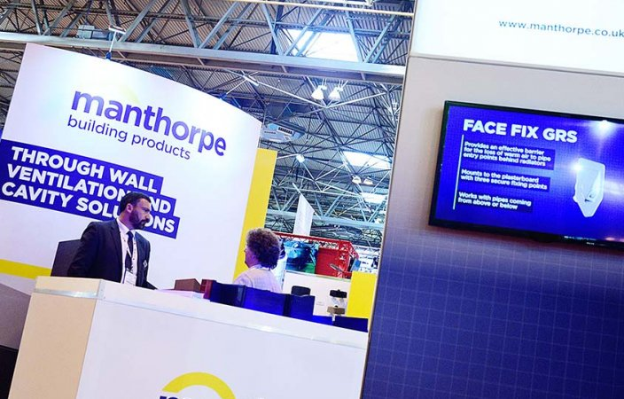 Manthorpe builds a solid presence at UK Construction Week