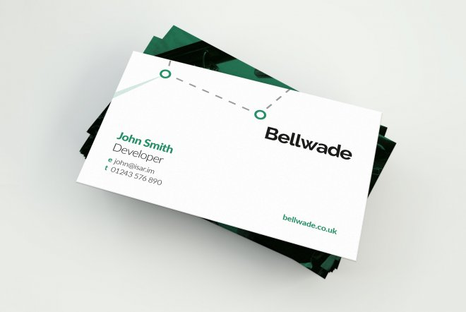 Bellwade Business Cards by Ouno Creative, Farnborough