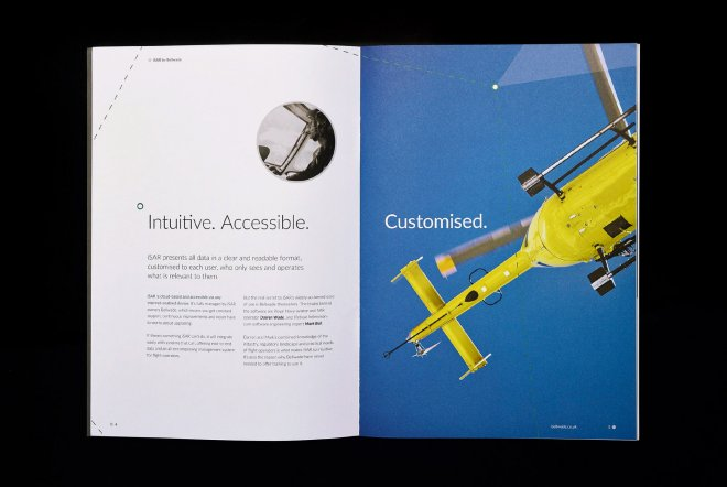 Bellwade Corporate Brochure Design and Print by Ouno Creative, Farnborough