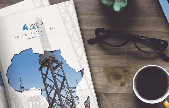InfraCo Africa brand collateral