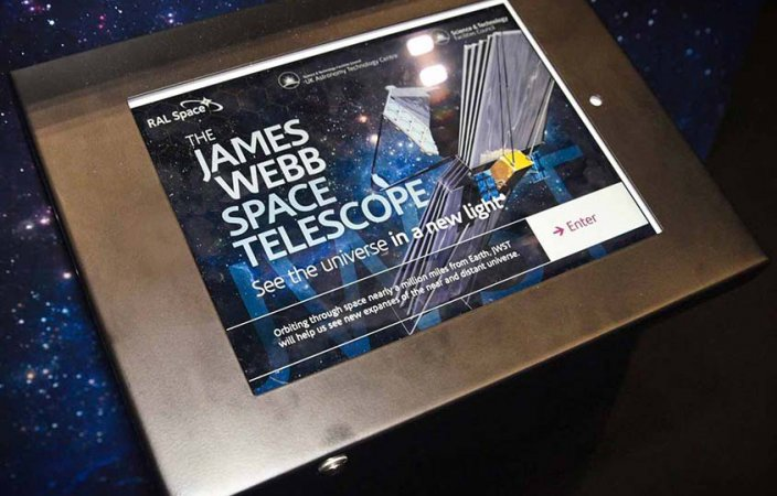 James Webb Space Telescope Display and App