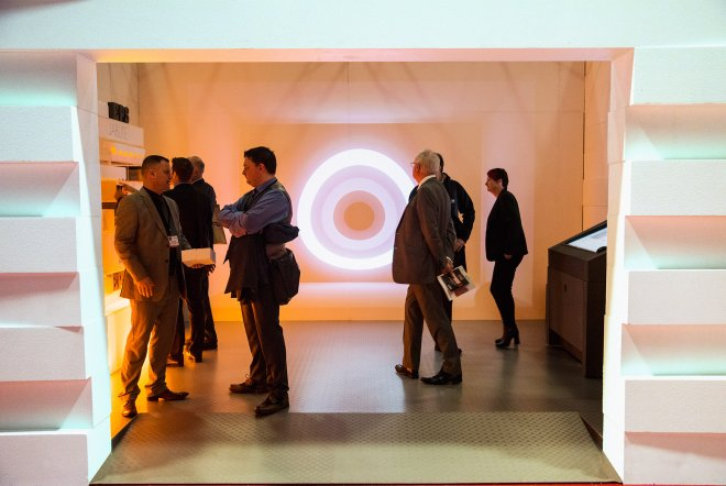 Jablite Exhibition 3D Projection Graphics by Ouno Creative, Hampshire