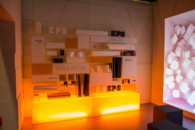 Jablite Exhibition Stand Build by Ouno Creative, Hampshire