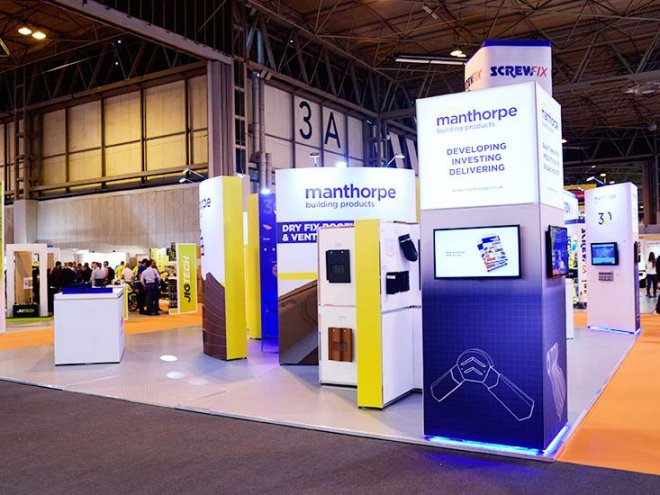 Manthorpe Building Products Exhibition Stand Design & Build by Ouno Creative