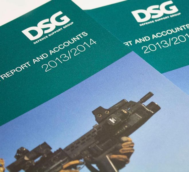 DSG Annual Report Design & Print by Ouno Creative
