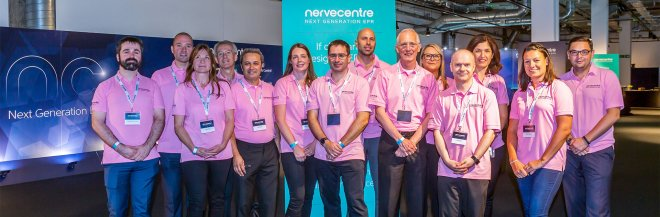 Nervecentre Team at EPR Launch Event