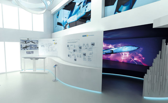 Exhibition design services from Ouno Creative, Farnborough