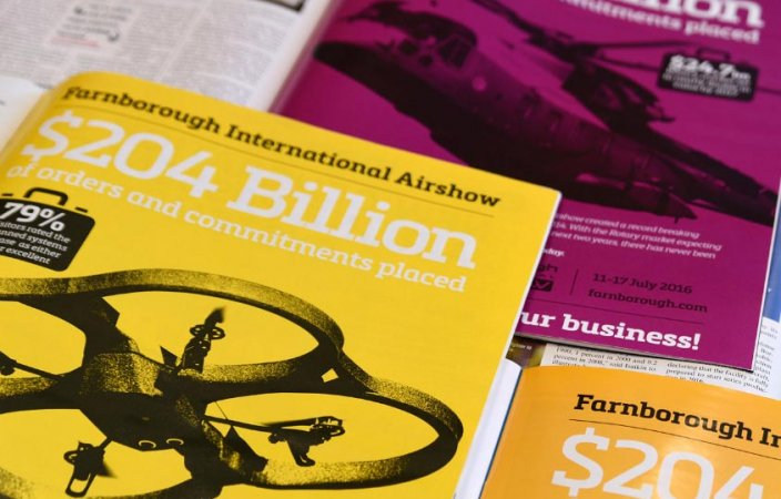 Let the facts speak for themselves: Farnborough International Airshow 2016 Marcomms Campaign