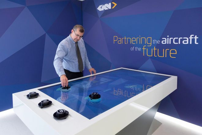 Ouno tangible object touch table for GKN 1