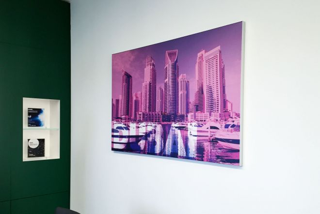 AETNA Office Graphics by Ouno Creative