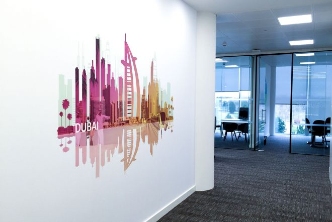 AETNA Large Scale Vinyl Print by Ouno Creative