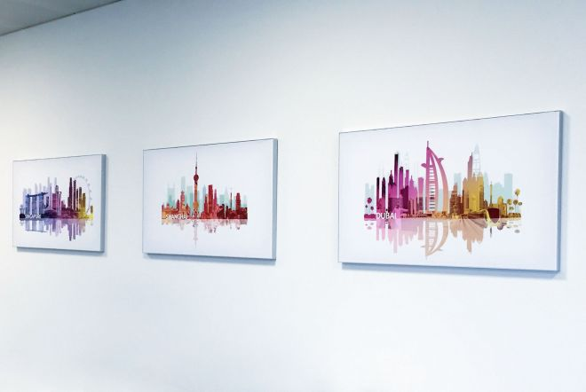 AETNA Large Artwork Prints by Ouno Creative