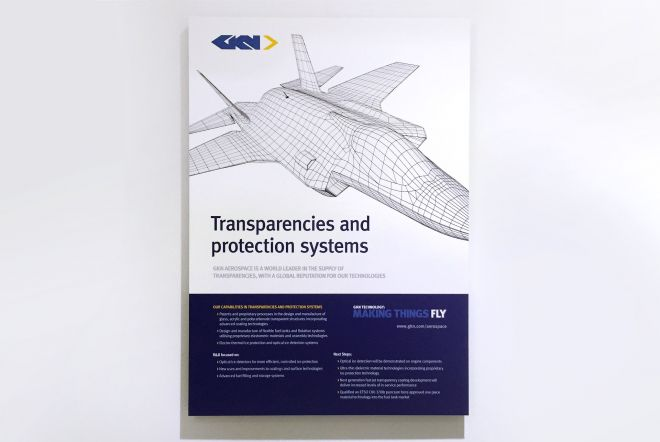 GKN Pavilion at Farnborough International Airshow 2016, 3D Wireframe Graphics by Ouno Creative, Hampshire.