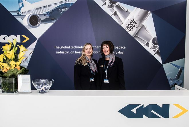 GKN Paris Chalet Exhibition Graphics by Ouno Creative