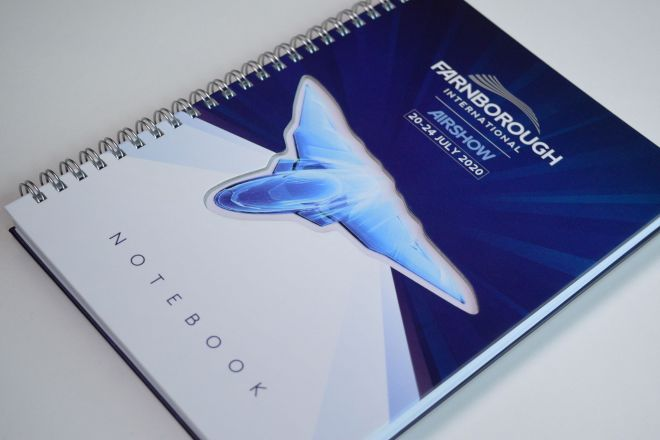 FIA 2020 campaign Notebook design by Ouno Creative
