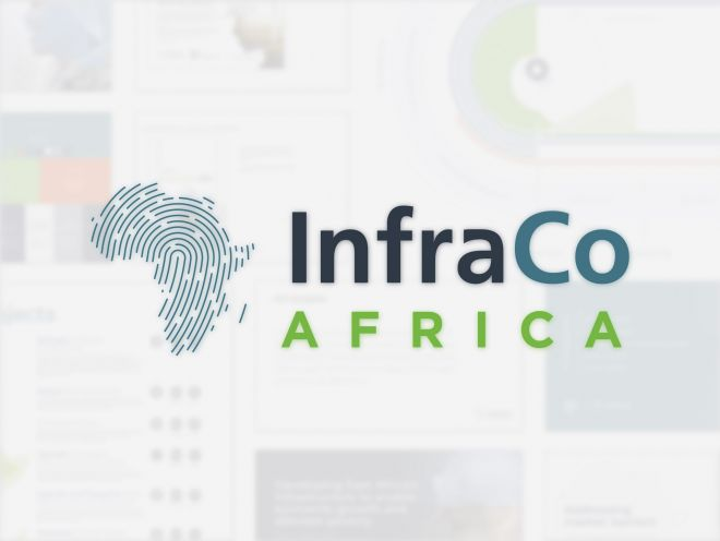 InfraCo Africa Rebrand logo by Ouno Creative in Hampshire, Surrey, South East