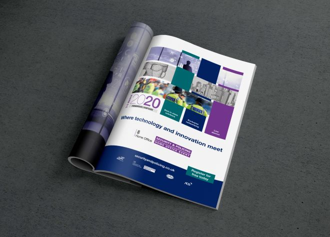 Security and Policing Advert, Print, Ouno Creative, Farnborough